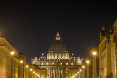 Saint Peter's Basilica in Vatican City, Italy Stock Photo