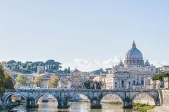 Saint Peter's Basilica in Vatican City, Italy royalty free stock image