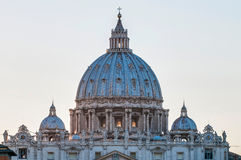 Saint Peter's Basilica in Vatican City, Italy Royalty Free Stock Photography
