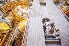 Saint Peter`s Basilica, Vatican City Royalty Free Stock Photography