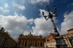 Saint Peters basilica. Vatican City Royalty Free Stock Photos