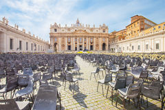 Saint Peter's Basilica in Vatican City State Stock Photography