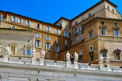 Saint Peter's Basilica in vatican Stock Image