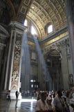 Saint Peters Basilica Vatican Stock Images