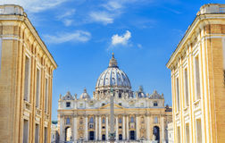 Saint Peter s Basilica in Vatican, Rome royalty free stock images