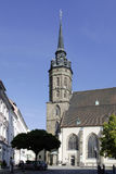 Saint Peter's Cathedral. of Bautzen in Germany Stock Photo