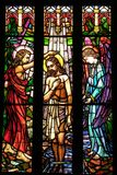 Saint Peter?s Cathedral stainded glass window Stock Photography