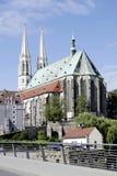 Saint Peter's Church of Goerlitz in Saxony Royalty Free Stock Photo