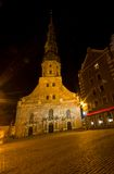 Saint Peter's church in Riga, Latvia Stock Image