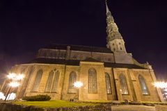 Saint Peter's church in Riga, Latvia Stock Image