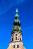 Saint Peter's church, Riga, Latvia Royalty Free Stock Image