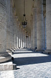 Saint Peter's columns Stock Photography