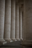 Saint Peter's columns Stock Image