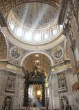 Saint Peter's dome Royalty Free Stock Photos