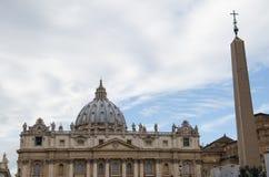 Saint Peter's dome Stock Image