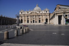 Saint Peter's Square Royalty Free Stock Photography