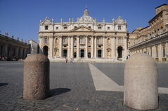 Saint Peter's Square Stock Photos