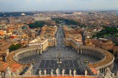Saint Peter S Square. Royalty Free Stock Photo
