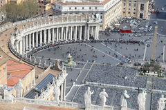 Saint Peter's Square Royalty Free Stock Photo