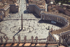 Saint Peter's square Royalty Free Stock Photos