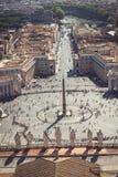 Saint Peter's square royalty free stock photos