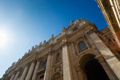 Saint Peter's square Stock Photography