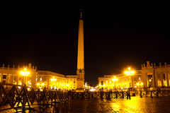 Saint Peter's Square in Rome Royalty Free Stock Photos