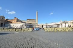 Saint Peter`s Square, sky, landmark, town square, plaza. Saint Peter's Square is sky, plaza and palace. That marvel has landmark, building and estate and that stock image