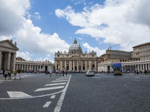 Saint Peter's Square Stock Photo