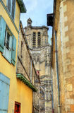 Saint Peter and Saint Paul Cathedral of Troyes in France Stock Photos