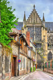 Saint Peter and Saint Paul Cathedral of Troyes in France Stock Images