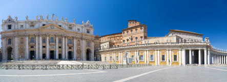 Saint Peter square Royalty Free Stock Images