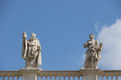 Saint Peter Square Royalty Free Stock Image