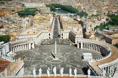 Saint Peter Square Royalty Free Stock Photography