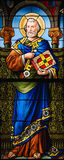 Saint Peter - Stained Glass Royalty Free Stock Images