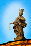 Saint Peter statue Royalty Free Stock Image