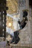 Saint Peter statue Stock Photo