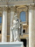 Saint Peter Statue in Vatican, Rome Royalty Free Stock Photos