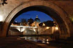 Saint Peter under the bridge royalty free stock photo