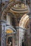 Saint Peter in the Vatican stock photos