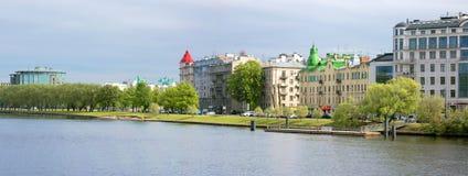 Saint-Peterburg. 18 May 2016. View from Yelagin Island Stock Photo