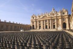 Saint Peters Basilica Stock Images