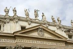 Saint Peters Basilica Royalty Free Stock Photo