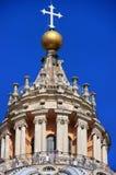 Saint Peters Basilica dome, Vatican City Stock Images