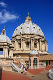 Saint Peters Basilica dome, Vatican City Royalty Free Stock Photography