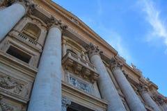 Saint Peters Basilica exterior Stock Photos
