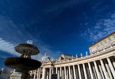 Saint peters basilica, roma Stock Images