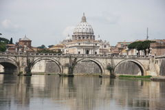 Saint Peters Basilica Rome Stock Image