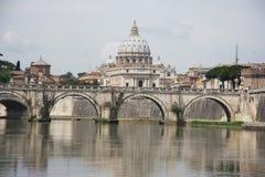 Saint Peters Basilica Rome Stock Image