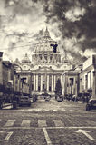 Saint Peters basilica Rome Royalty Free Stock Photography